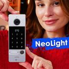 Видеопанель со считывателем и клавиатурой - NeoLight Optima ID Key FHD статьи на nadzor.ua, фото