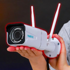 Двухдиапазонная 2.4/5 ГГЦ уличная Wi-Fi IP Камера Reolink RLC-511W с зумом статьи на nadzor.ua, фото