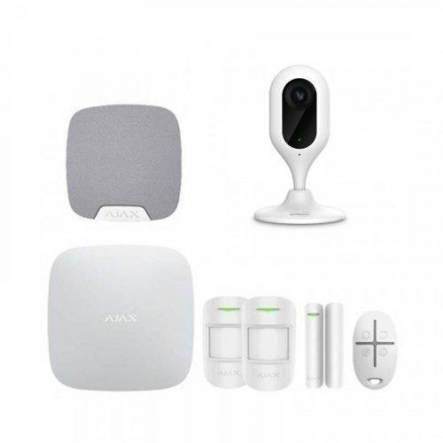 Комплект сигнализации Ajax для квартиры  + камера Dahua DH-IPC-C22P