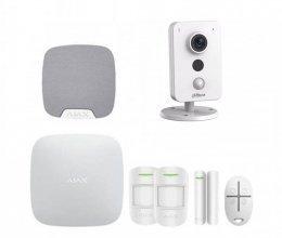 Комплект сигнализации для квартиры  + камера Dahua DH-IPC-K35P