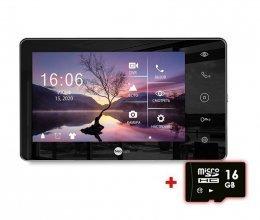 Видеодомофон со встроенной памятью и автоответчиком NeoLight Zeta+ HD Black