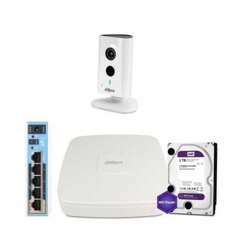 IP комплект видеонаблюдения Dahua WiFi-3M-1IN-HOME-C35P-HDD