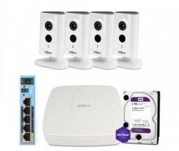 Dahua WiFi-3M-4IN-HOME-C35P-HDD