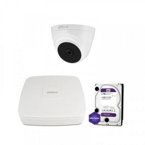 HDCVI комплект видеонаблюдения Dahua CVI-1M-1IN-PL-Lite