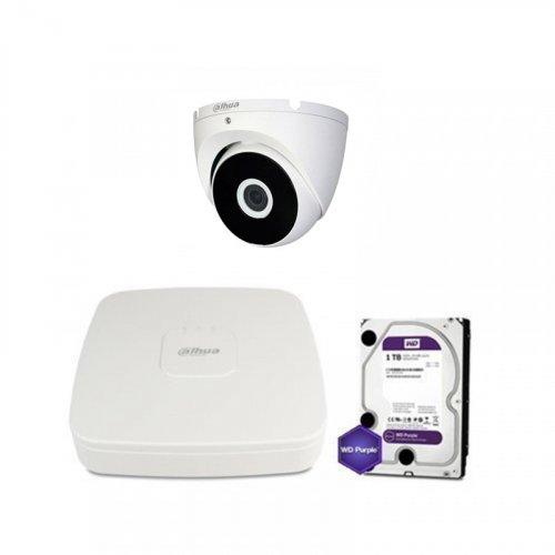 HDCVI комплект видеонаблюдения Dahua CVI-1M-1DOME-E-Lite