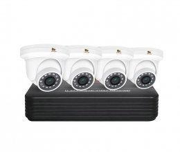 IP комплект видеонаблюдения Partizan IP-7 4xCAM + 1xNVR