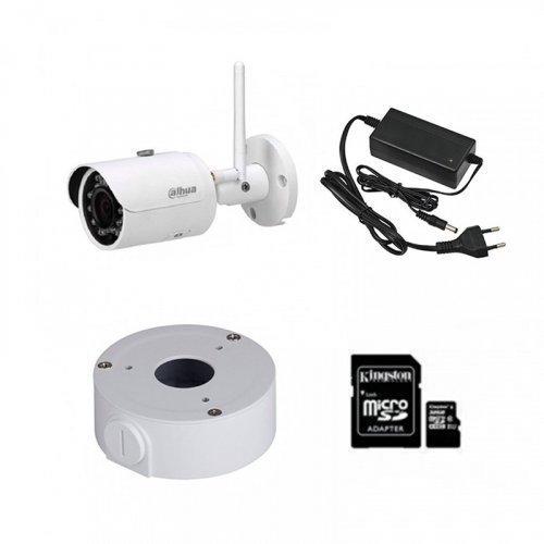 IP комплект видеонаблюдения с камерой Dahua DH-IPC-HFW1320SP-W (2.8 мм)