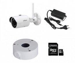IP комплект видеонаблюдения с камерой Dahua DH-IPC-HFW1320SP-W (3.6 мм)