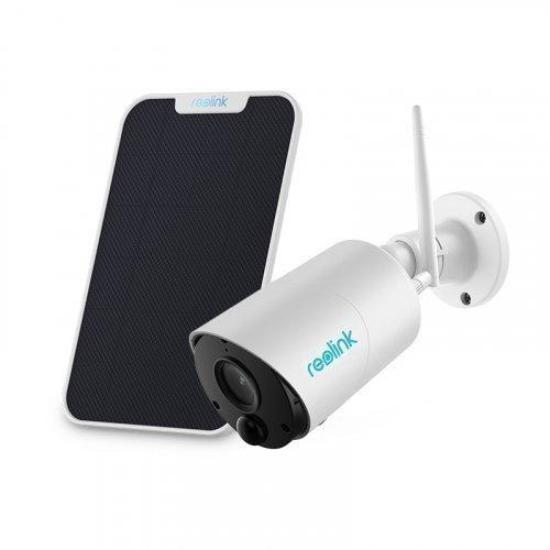 Аккумуляторная беспроводная уличная Wi-Fi IP Камера 2Мп Reolink Argus Eco + солнечная панель