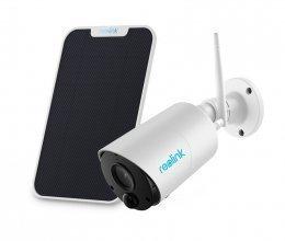 Аккумуляторная беспроводная уличная Wi-Fi IP Камера Reolink Argus Eco + солнечная панель