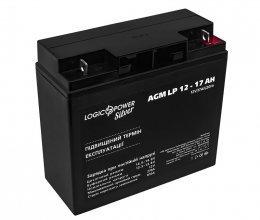 LogicPower AGM LP 12 - 17 AH SILVER