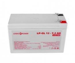LogicPower LP-GL 12 - 7,2 AH SILVER