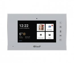 Видеодомофон  BAS-IP AQ-07L Silver