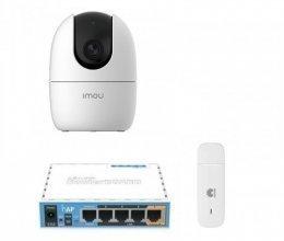 3G комплект видеонаблюдения с IP камерой IMOU Ranger 2 (Dahua IPC-A22EP)