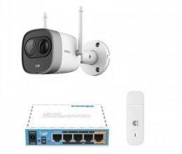 3G комплект видеонаблюдения с IP камерой IMOU New Bullet (Dahua IPC-G26EP)