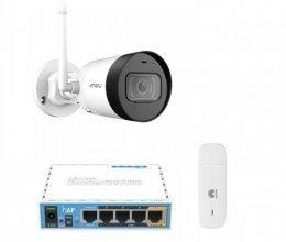 3G комплект видеонаблюдения с IP камерой IMOU Bullet Lite 4MP (Dahua IPC-G42P)