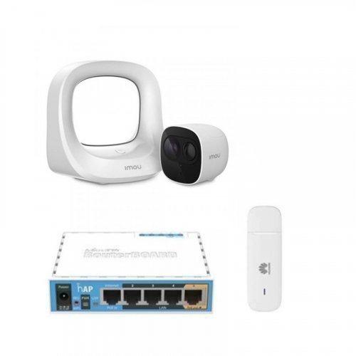 3G комплект видеонаблюдения с IP камерой IMOU Cell Pro (KIT-WA1001-300/1-B26EP)