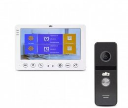 Комплект домофона ATIS AD-720HD White и Atis AT-400HD Black
