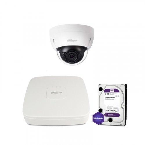 IP комплект видеонаблюдения Dahua IP-2M-1DOME-IK-Lite