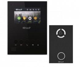 Комплект домофона BAS-IP AU-04LA  Black и BAS-IP AV-03D Black