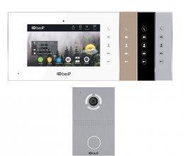 Комплект домофона BAS-IP AQ-07L и BAS-IP AV-03D Silver