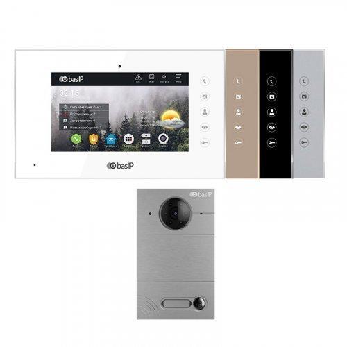 Комплект домофона BAS-IP AQ-07L и BAS-IP AV-01D