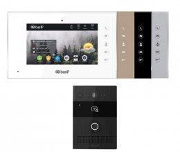 Комплект домофона BAS-IP AQ-07L и BAS-IP AV-07B Black