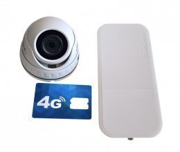 4G комплект с IP камерой SEVEN IP-7212PA
