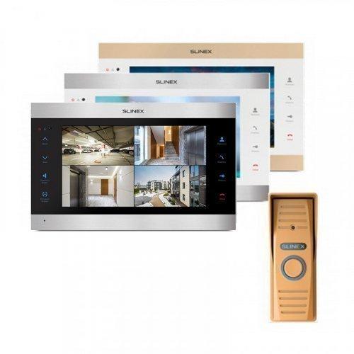 Комплект домофона Slinex SL-10IPT и Slinex ML-15HR Gold