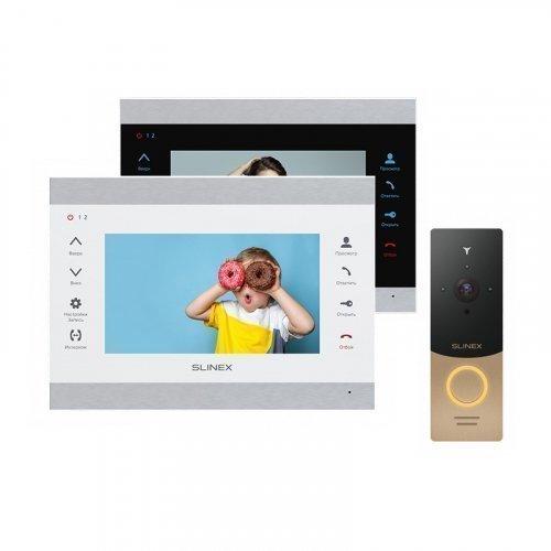 Комплект домофона Slinex SL-07M и Slinex ML-20IP Gold