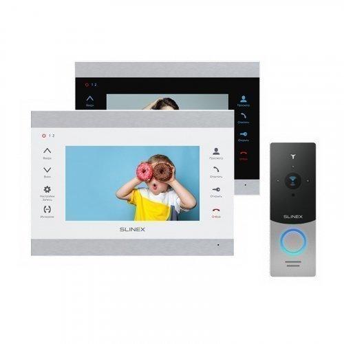 Комплект домофона Slinex SL-07M и Slinex ML-20IP Gray