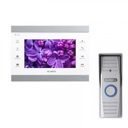 Комплект домофона Slinex SL-07IP White и Slinex ML-15HR Gray