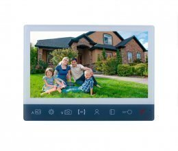 Видеодомофон SEVEN DP–7512 FHD IPS white