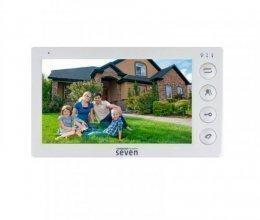 Видеодомофон SEVEN DP–7574 white