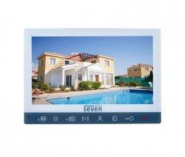 Видеодомофон SEVEN DP–7573 FHD white