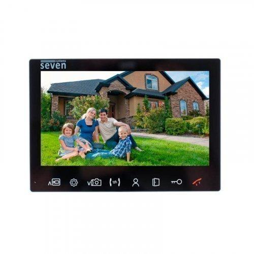 Видеодомофон SEVEN DP–7575 FHD IPS black