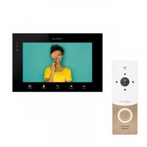 Комплект домофона Slinex SQ-07MTHD Black и Slinex ML-20HD White
