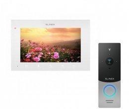 Комплект домофона Slinex SQ-07MTHD White и Slinex ML-20HD Gray