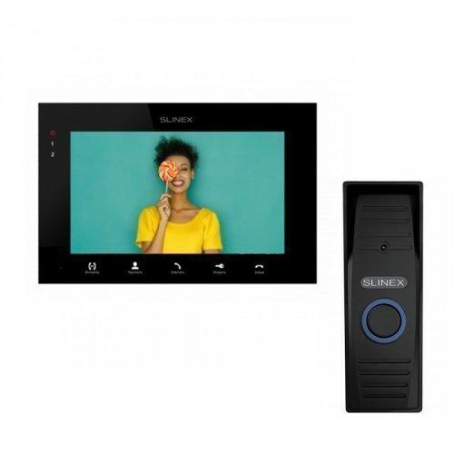 Комплект домофона Slinex SQ-07MTHD Black и Slinex ML-15HD Black