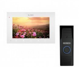 Комплект домофона Slinex SQ-07MTHD White и Slinex ML-15HD Black
