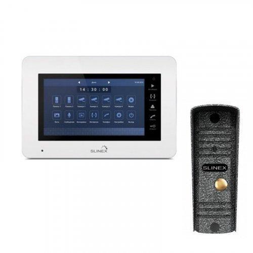 Комплект домофона Slinex XS-07M и Slinex ML-16HR Silver