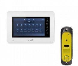 Комплект домофона Slinex XS-07M и Intercom IM-10 Yellow