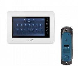 Комплект домофона Slinex XS-07M и Intercom IM-10 Blue