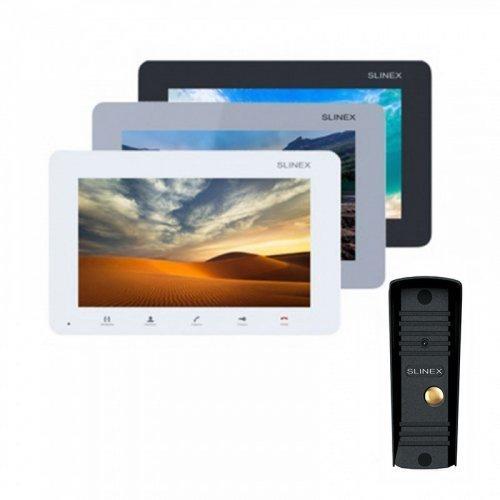 Комплект домофона Slinex SM-07M и Slinex ML-16HR Black