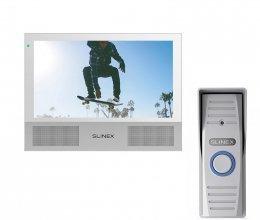Комплект домофона Slinex Sonik 7 White и Slinex ML-15HD Gray