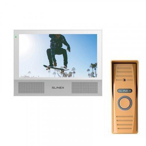 Комплект домофона Slinex Sonik 7 White и Slinex ML-15HD Copper