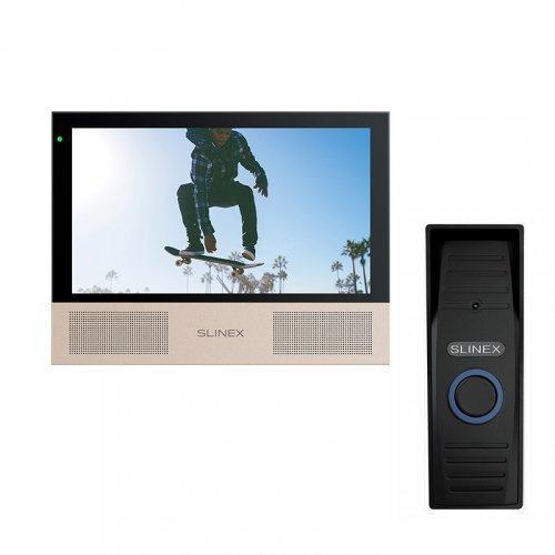 Комплект домофона Slinex Sonik 7 Black и Slinex ML-15HD Black
