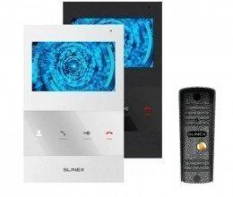 Комплект домофона Slinex SQ-04 и Slinex ML-16HR Silver