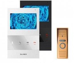 Комплект домофона Slinex SQ-04 и Slinex ML-15HR Gold