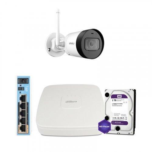 IP комплект видеонаблюдения Dahua WiFi-2M-1OUT-HOME-G22P-HDD